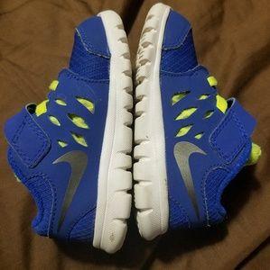 Blue Nike Boys/baby Shoes. Size 6.